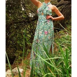 Lovers + Friends Floral Flashback Maxi Dress